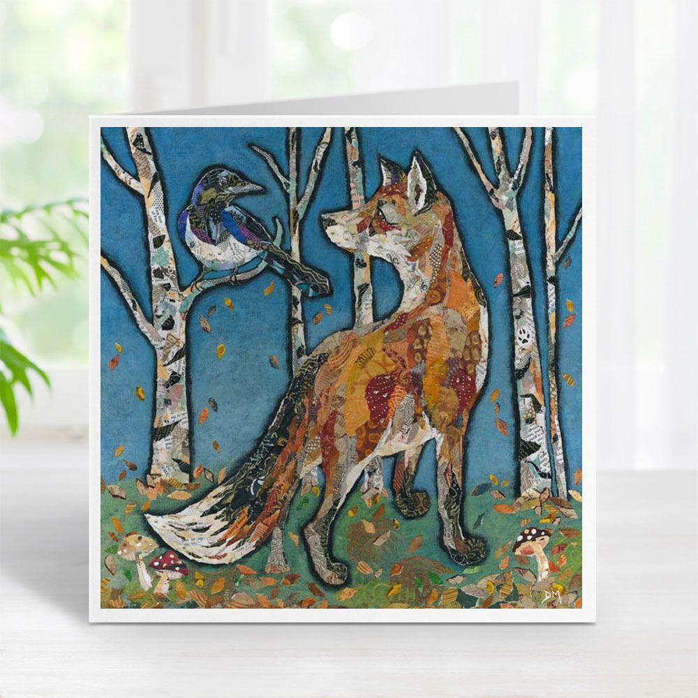 Salute Mr Magpie - Fox Card