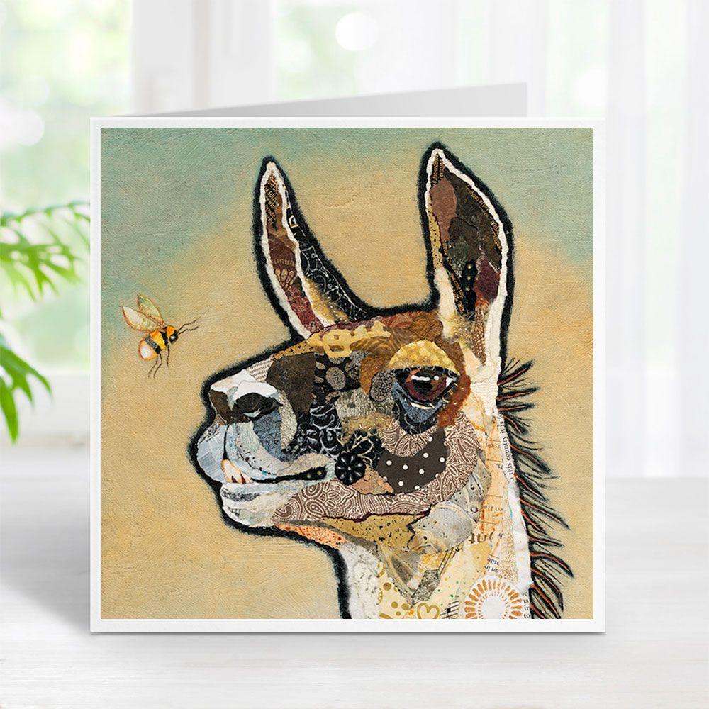 Llama Rodney Card