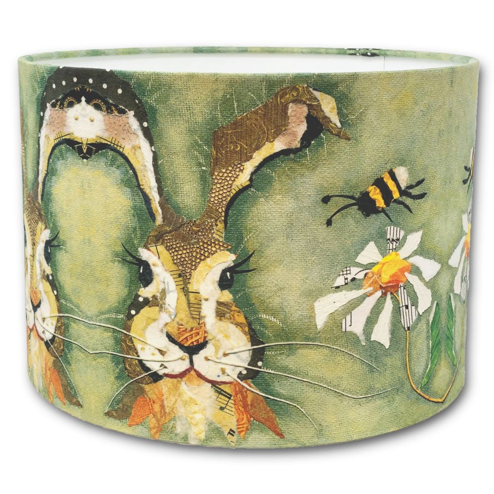 Hare & Bee - 30cms Lampshade
