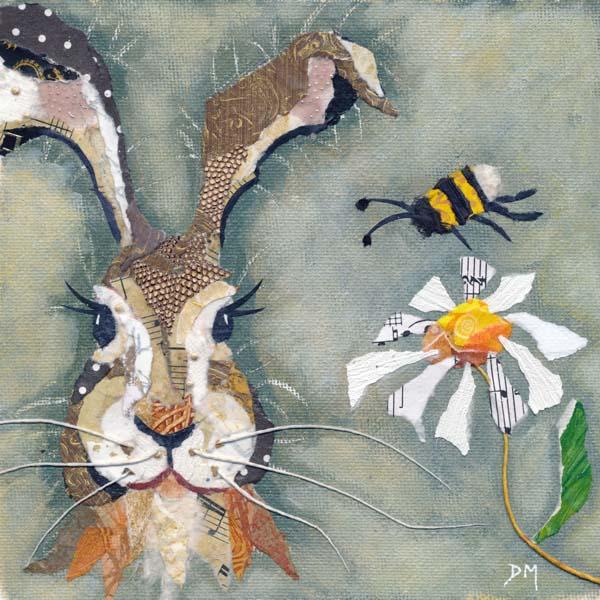 Hare & Bee Print