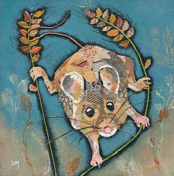 Climbing Mouse Art Print