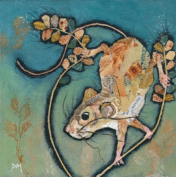 Balancing Mouse Art Print