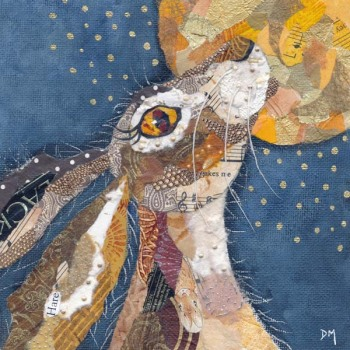 Moon Hare - Med Print