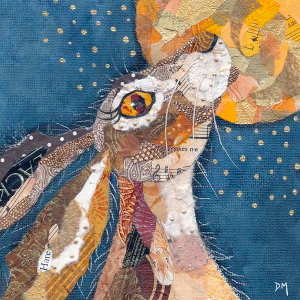Hare and Moon Print