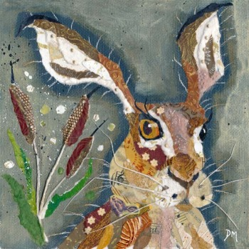 Hare with Crooked Whiskers - Small/Med Print