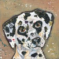 Woof - Dalmation Art Print