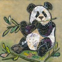 Bamboo Panda - Small/Med Print