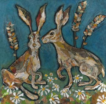 All Ears - Hare Art Print