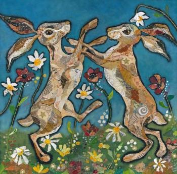 Hare Waltz - Large Print