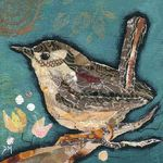 Wren on Teal II