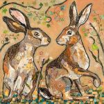 Hares Looking at You