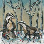 Badgers in Winter