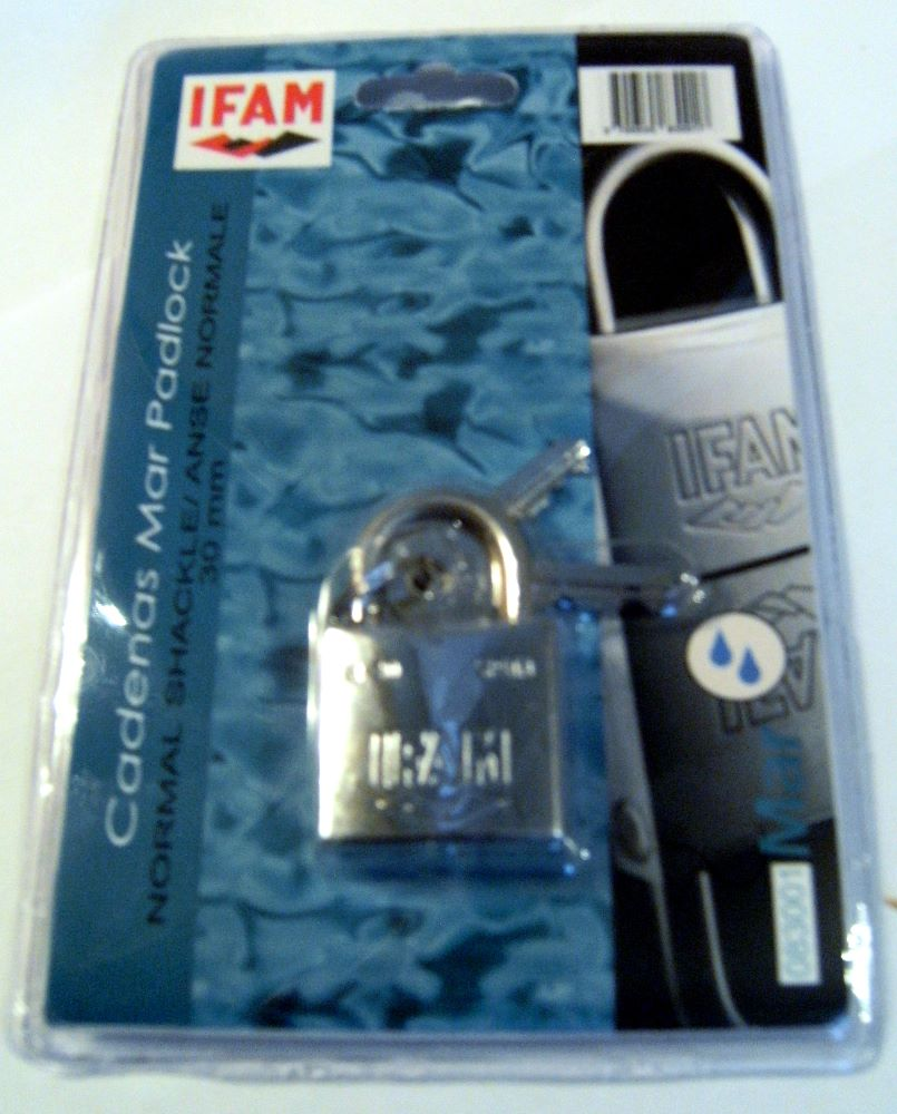 <!--001-->IFAM MARINE PADLOCKS - BLISTER PACKED.