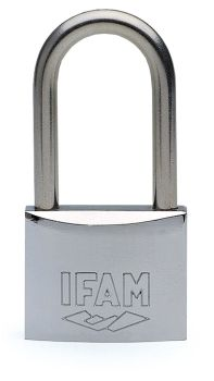 IFAM 40mm LONG SHACKLE KEYED ALIKE MARINE PADLOCK. SALT SPRAY TESTED.