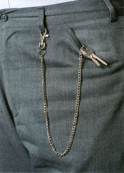 KEY CHAIN WITH TRIGGER SNAP GRIP FOR BELTS, POCKETS AND HANDBAGS. REF. RKCTS.
