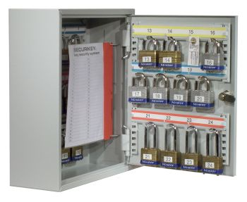 SYSTEM 24 PADLOCK STORAGE CABINET. Ref. KP024