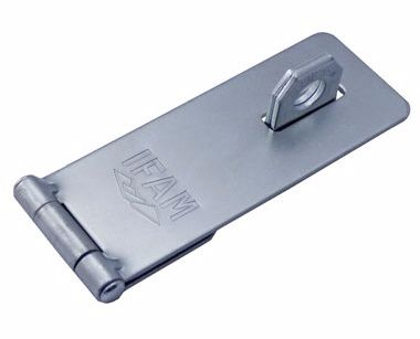 IFAM PC430 LARGE STEEL HASP. 130mm x 50mm.