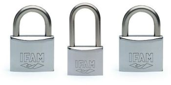 2pcs IFAM 40mm STANDARD SHACKLE KA MARINE PADLOCK WITH ONE 40mm KA LS MODEL .