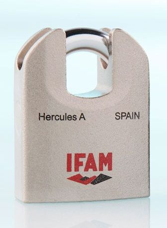 <!--011-->IFAM HERCULES A CEN 4 RATED HIGH SECURITY PADLOCK.