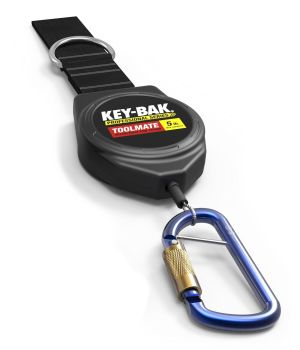 TOOLMATE MAX from KEY-BAK. Retractable Tether. 2.25kg (5lb) Capacity. 1.5m cable.
