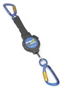 TOOLMATE KEY-BAK LIGHT Retractable Tether. 0.45kg (1lb) Capacity. 1.066m cable.