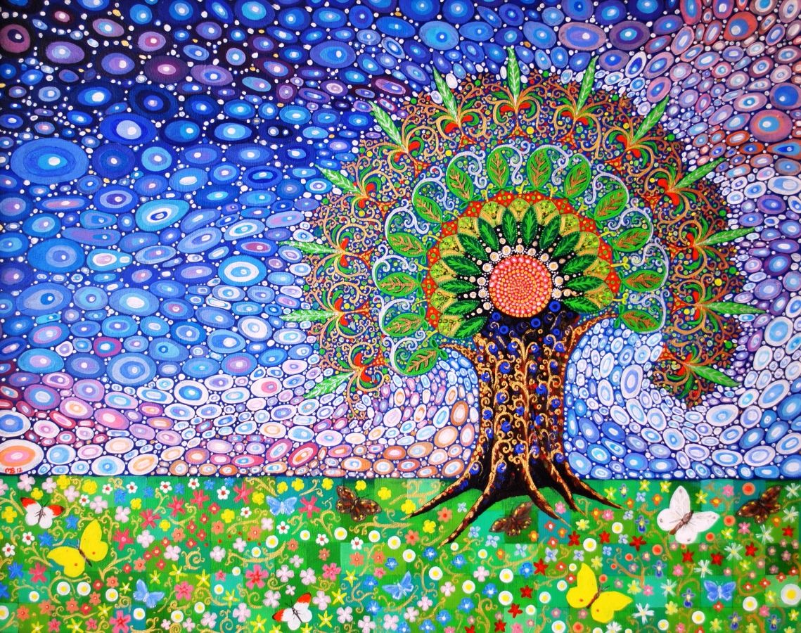 Peacock Tree of Life