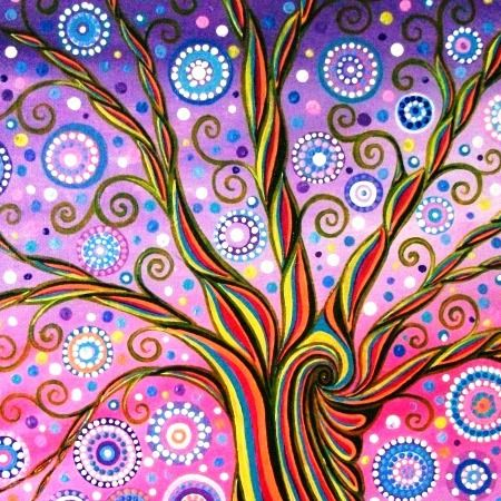 Candy Tree by Mark Betson Artist