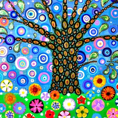 Fabric Tree by Mark Betson Artist