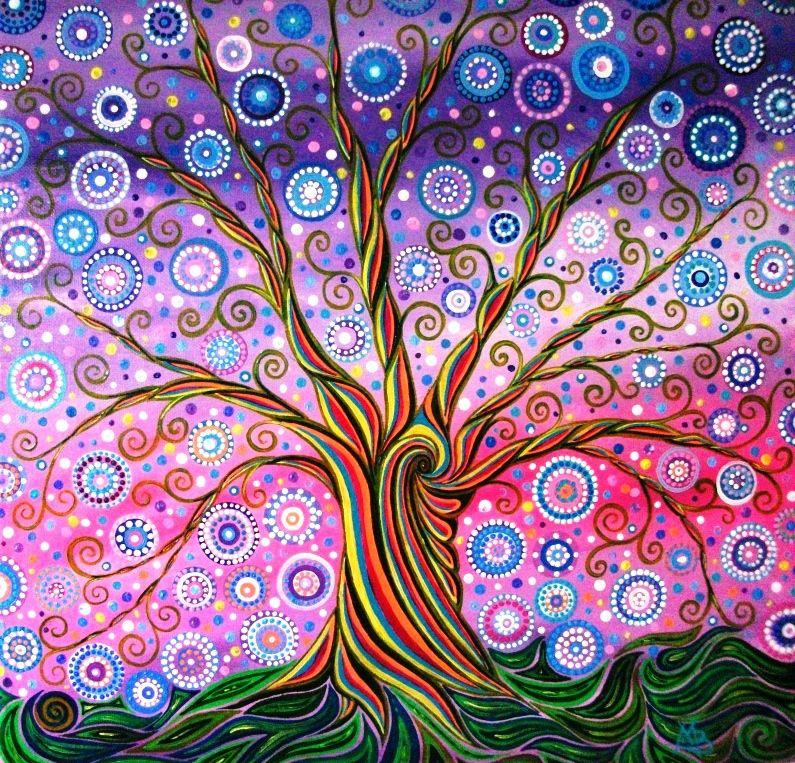 Spiral Tree of Life