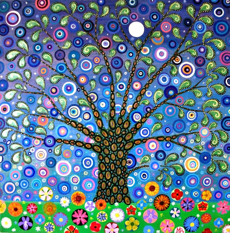 Fabric Tree by Mark Betson Artist