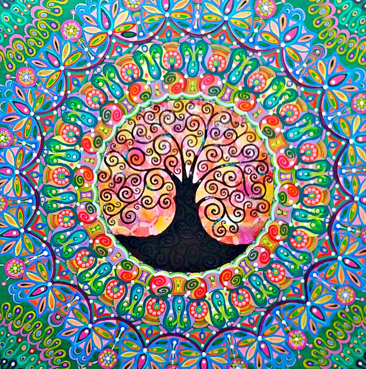 Tree Mandala by Mark Betson Artist