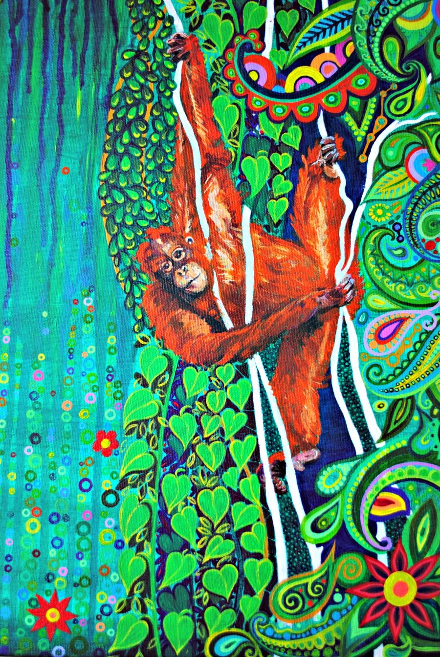 Hanging Around by Mark Betson Artist