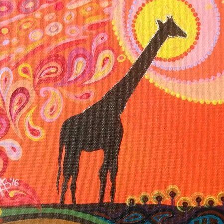 Giraffe by Mark Betson Artist