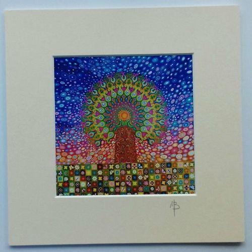 Tree of Life print Mandala