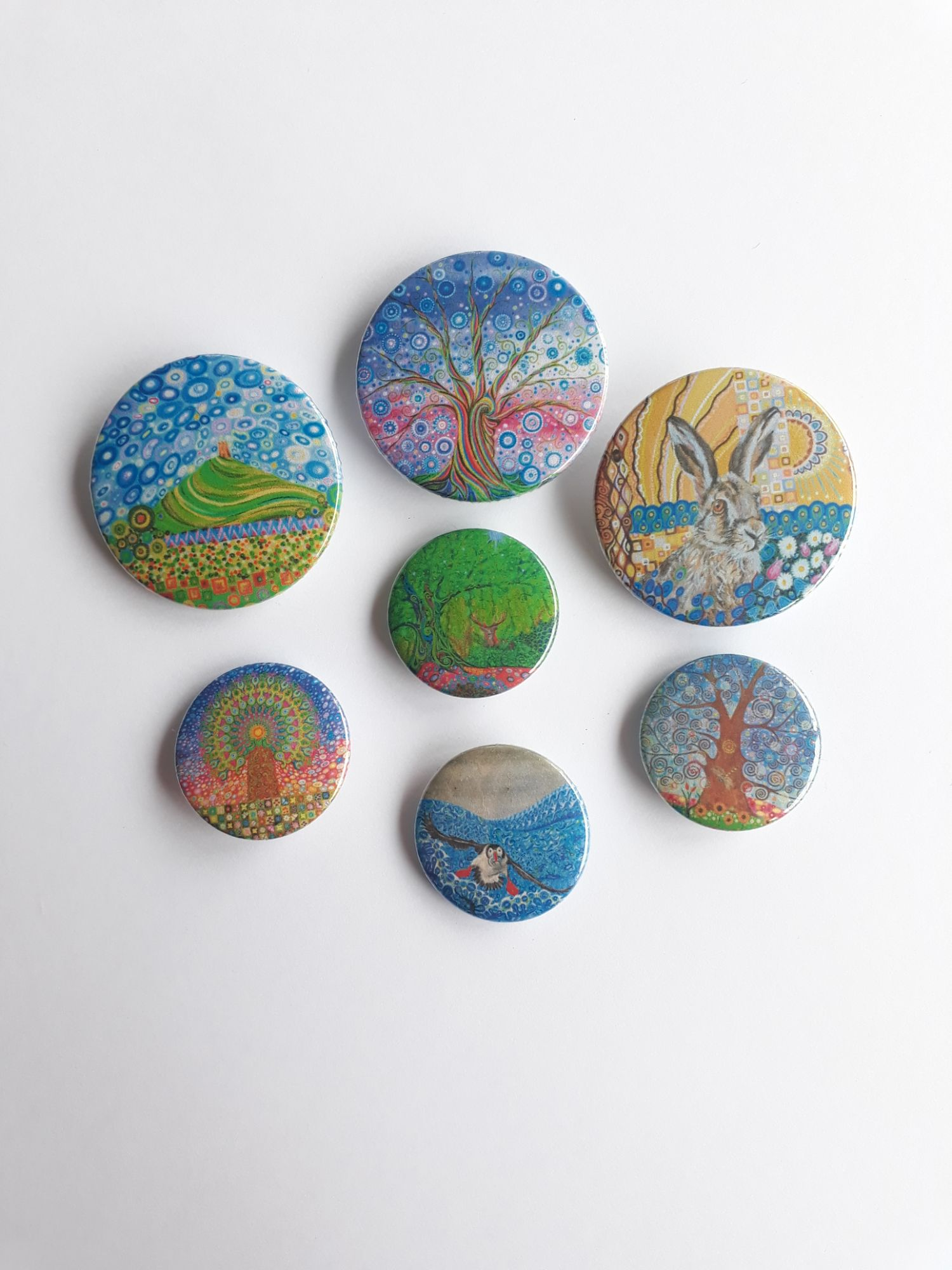 Shop for Mark Betson Artist Badges