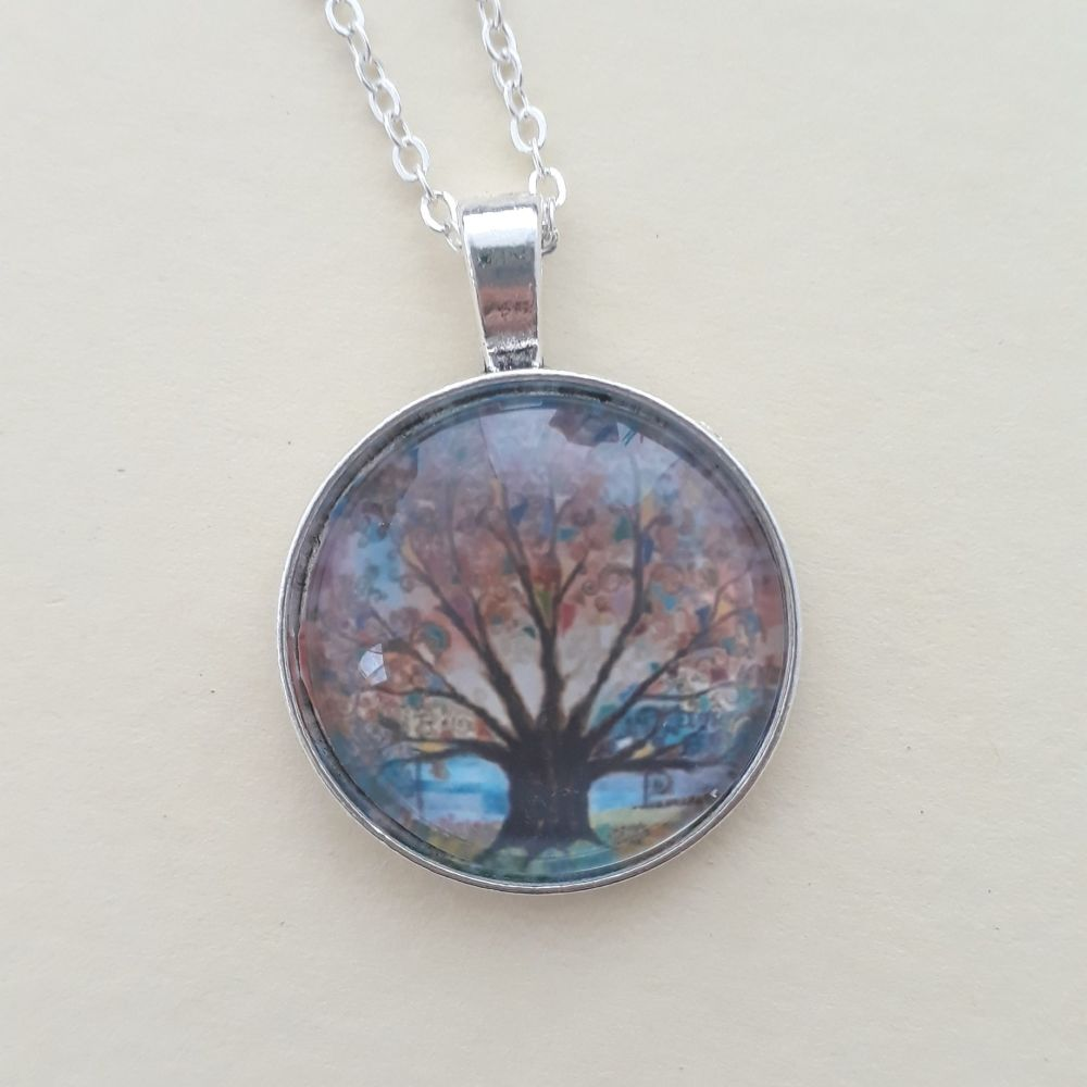 Dragonfly Tree of Life Art Charm
