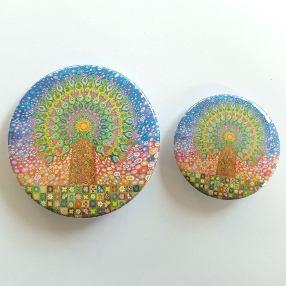 Glastonbury Tor Badges