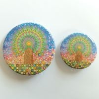 Mandala Tree of Life Badges
