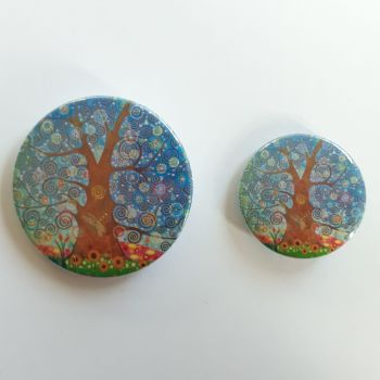 Dragonfly Tree of Life Badges