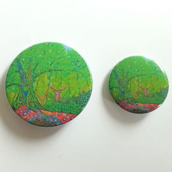 Stag Tree of Life Badges