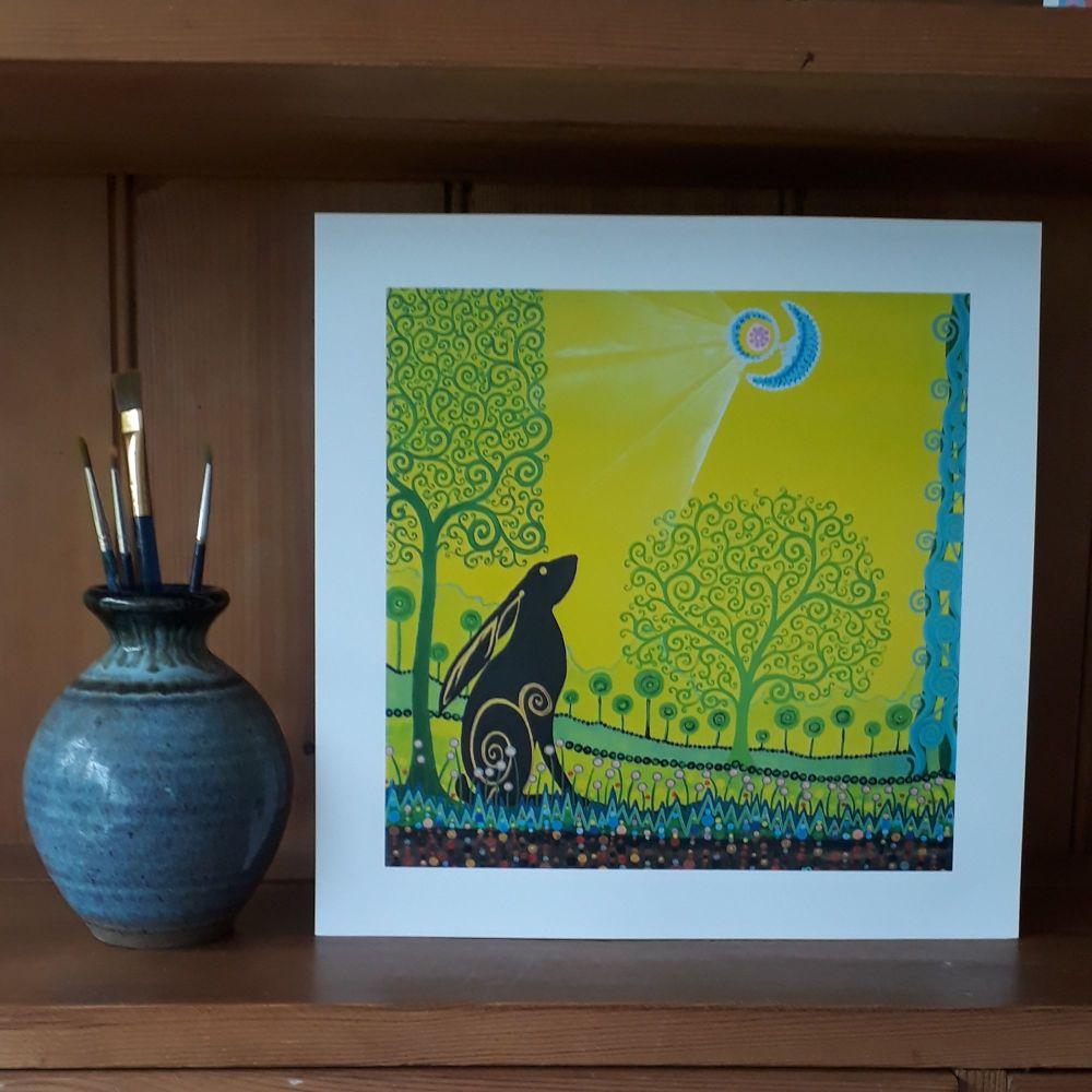 MB214 Moon Gazing Hare