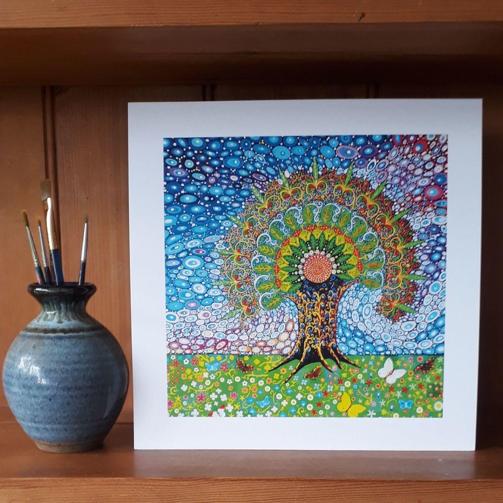 MB218 Peacock Tree of Life #4