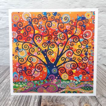 Fire Sky Tree of Life (150mm)