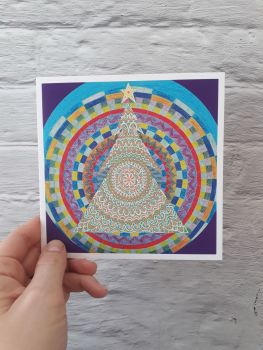 MB025 Christmas - Mandala Tree