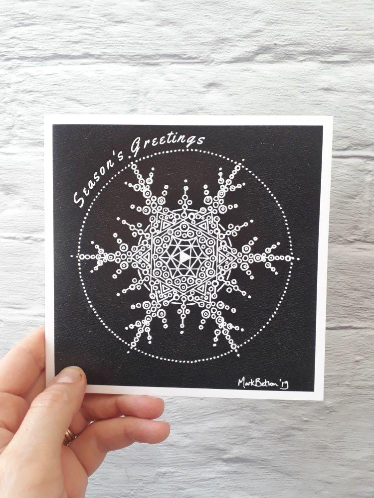MB027 Christmas - snowflake