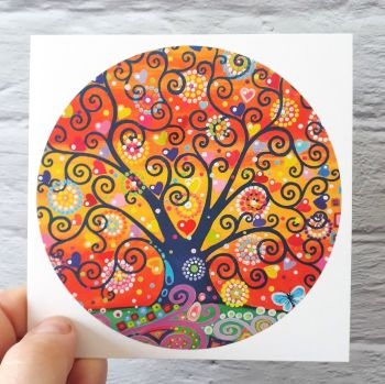 Fire Sky Tree of Life (125mm)
