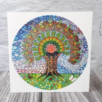 Mandala Tree of Life (125mm)