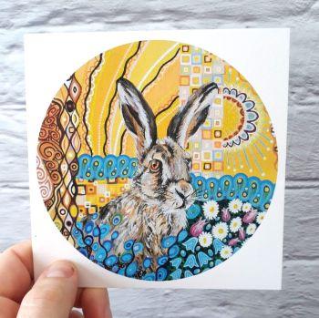 Art Nouveau Hare