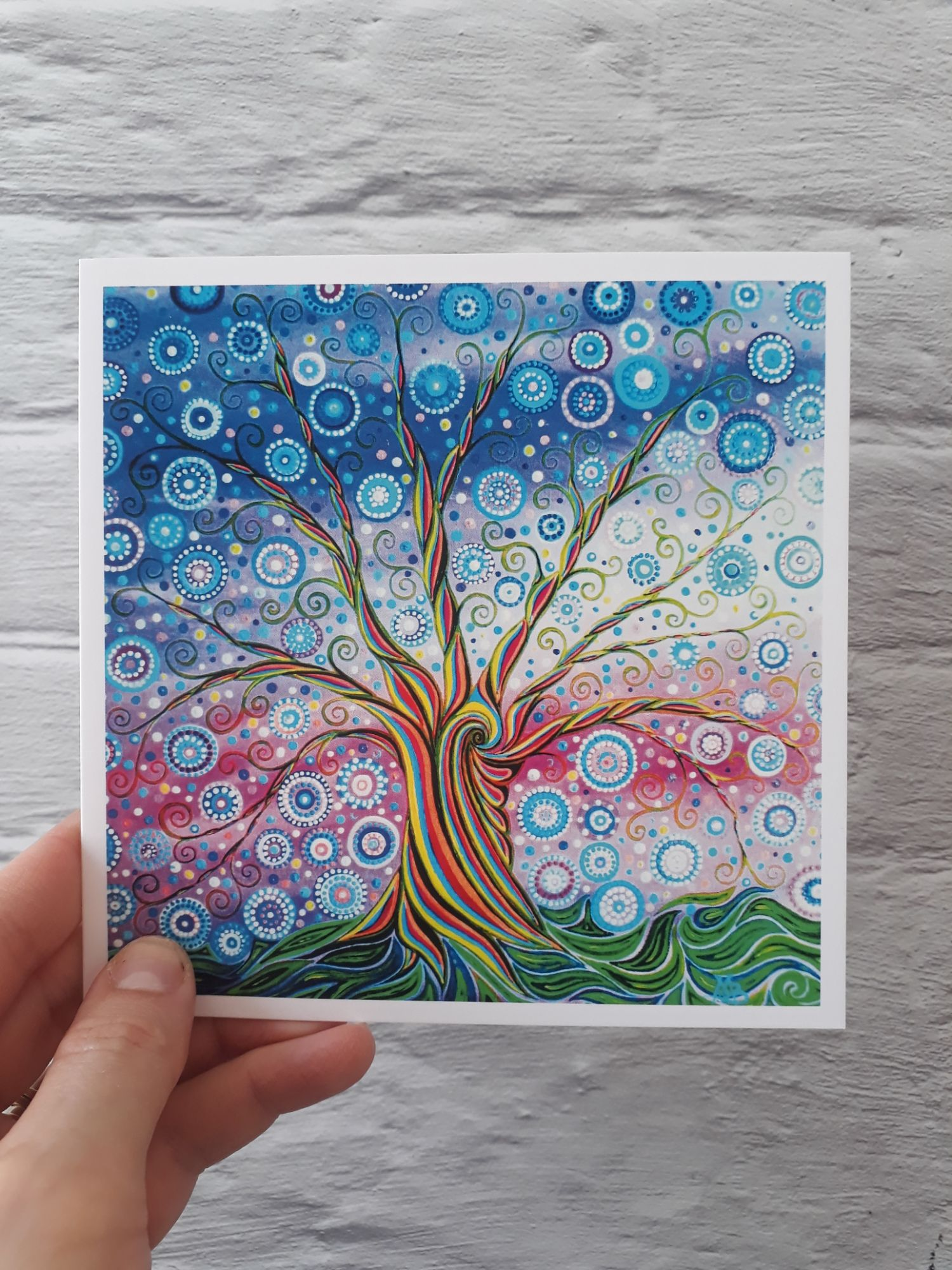 Candy Tree Greeting Card