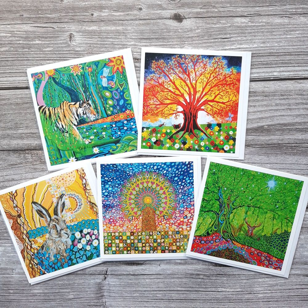 Tree of Life & Wildlife card pack